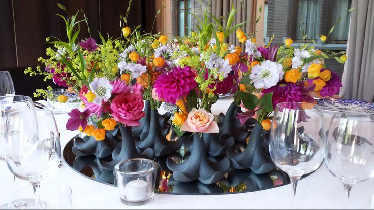 Table decoration - Dutch Flowers - Menno Kroon - Symphony Room - Conservatorium Hotel Amsterdam