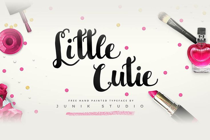 Little Cutie – Free Font. Absolutely FREE brush font. A beautiful hand lettered painted typeface. CLICK to go to download page directly! Use this for personal & commercial works such as art, logos, branding, printables, t-shirt quotes and so on. Enjoy !