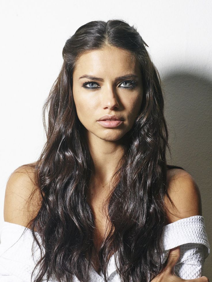 25+ Best Ideas About Adriana Lima Hair On Pinterest