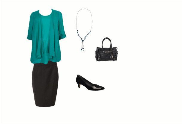 Office wear by Steffi James