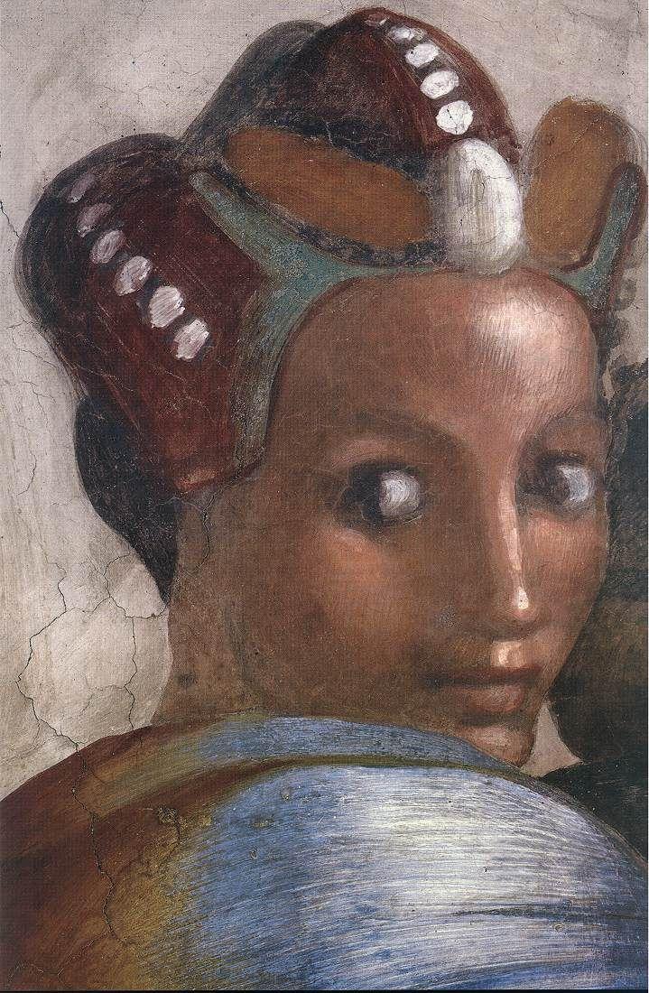 michelangelo lunette cappella sistina - Jacob - Joseph  Dettaglio fantastico  Cerca con Google
