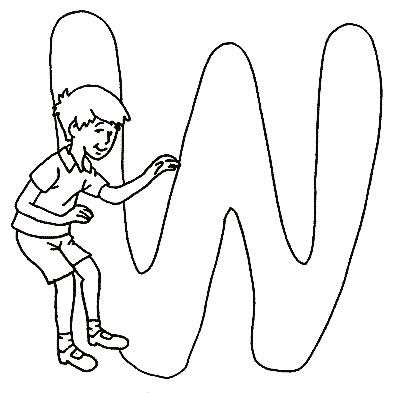 Coloring pages winnie the pooh alphabet 23