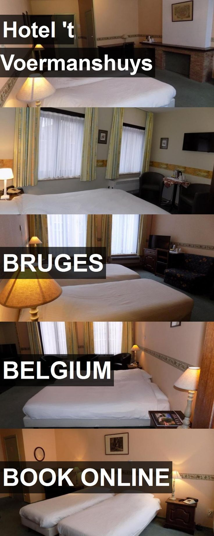 Hotel 't Voermanshuys in Bruges, Belgium. For more information, photos, reviews and best prices please follow the link. #Belgium #Bruges #travel #vacation #hotel
