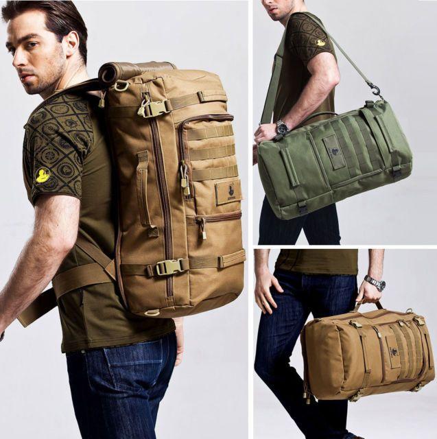 Waterproof Outdoor Sports Backpack Bag Laptop Bag Daypack Tactical Travel Bag