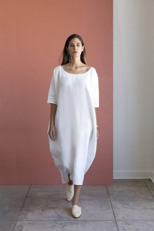 Rachel Craven Long Cocoon Dress