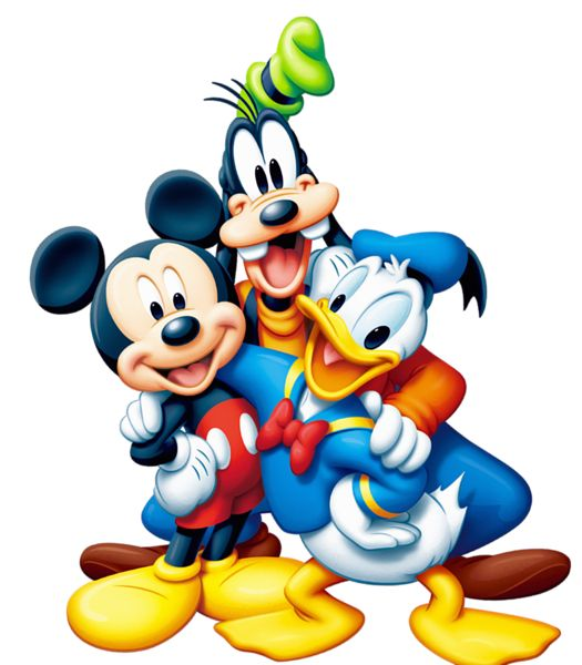 Mickey Mouse and Friends PNG Clipart