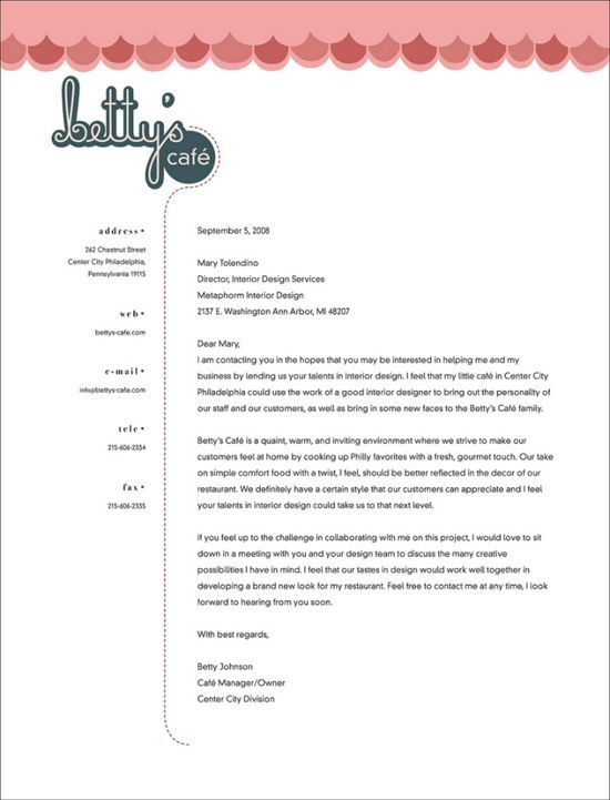 Best 25+ Letterhead examples ideas on Pinterest Examples of - business letterhead template free