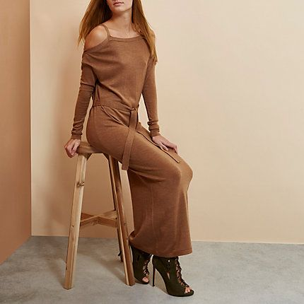 Brown RI Studio merino wool jumper dress €45.00
