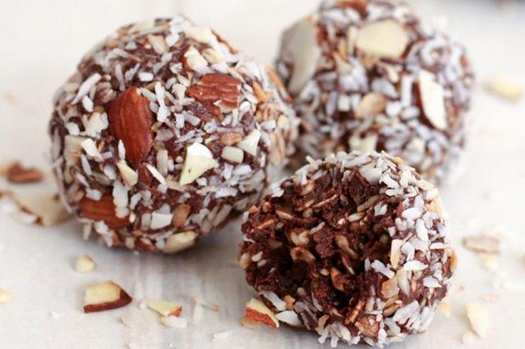 Chocolate Coconut Almond Balls - Skinny Ms.