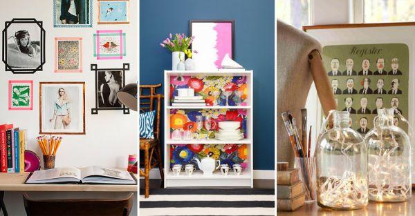 17 ideas económicas para decorar y darle vida a tu hogar