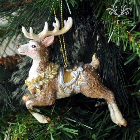 ホーリートナカイ/サドルKC004SD|クリスマス雑貨の通販【マテリ】 |