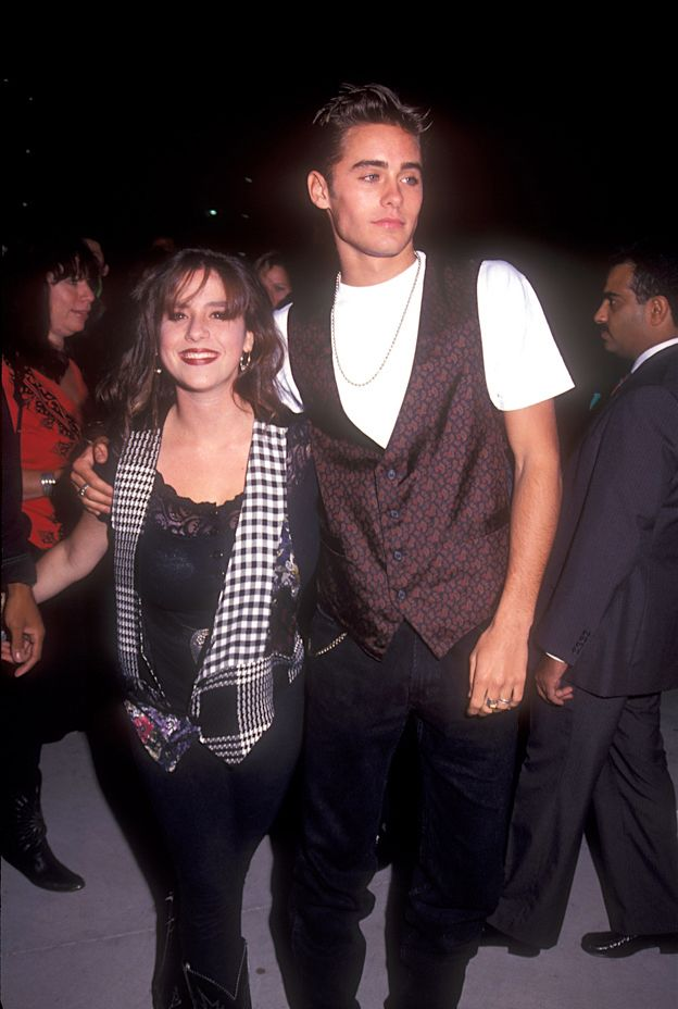Jared Leto and Soleil Moon Frye, 1991