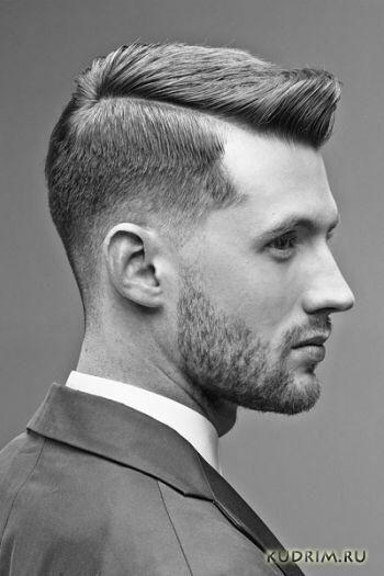 стрижка fade haircut