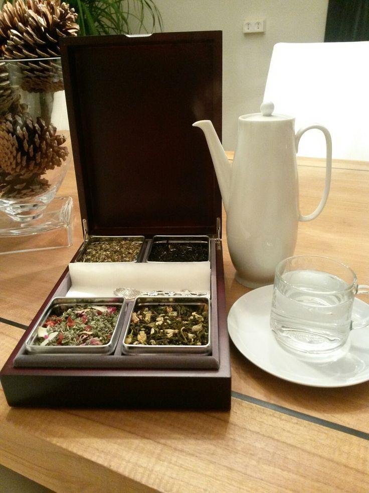 Eindelijk een theedoos gevonden voor losse thee!