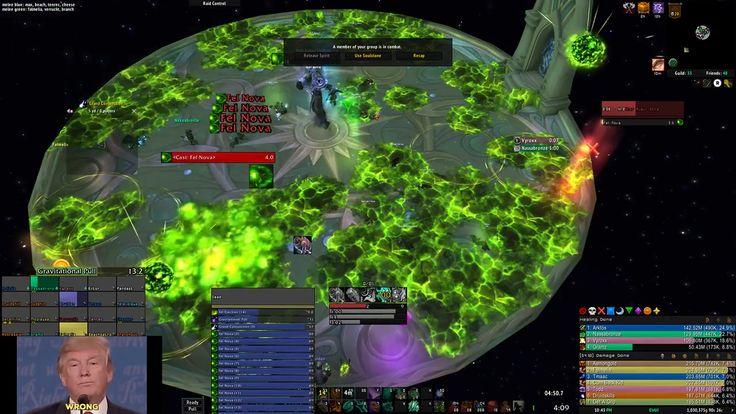 Mythic Spell Auger has a Fel Nova Spam Cast Bug #worldofwarcraft #blizzard #Hearthstone #wow #Warcraft #BlizzardCS #gaming