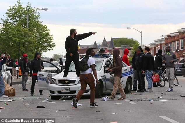 Baltimore Mayor Stephanie Rawlings-Blake and President Barack Obama both chose to use the word thugs