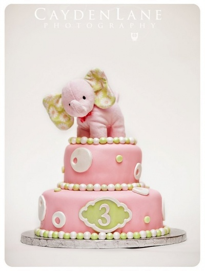 Camis 3rd B~day By MadKat on CakeCentral.com