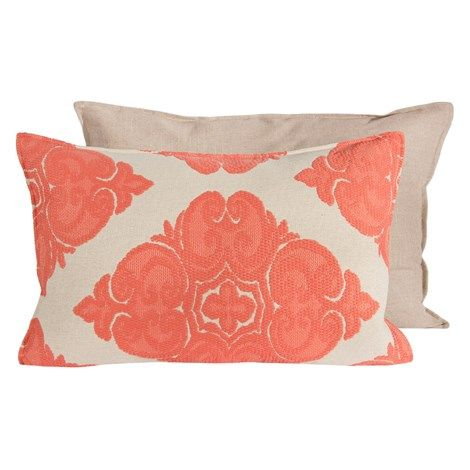 Cotillion Melon Pillow