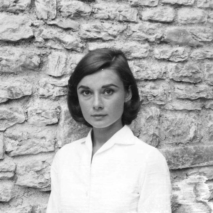 Rare Audrey Hepburn — Audrey Hepburn photographed during the production...