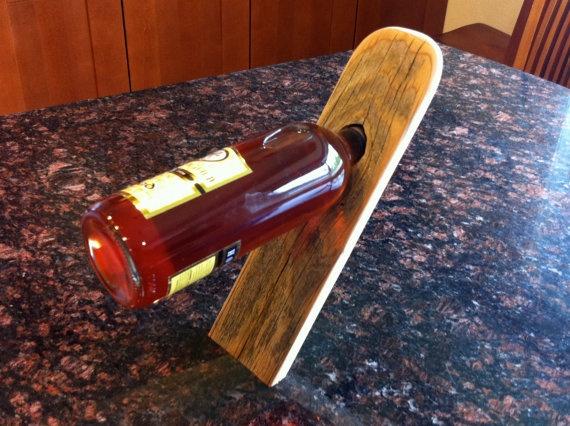 Make balancing wine bottle holder woodworking projects plans - Wine bottle balancer plans ...