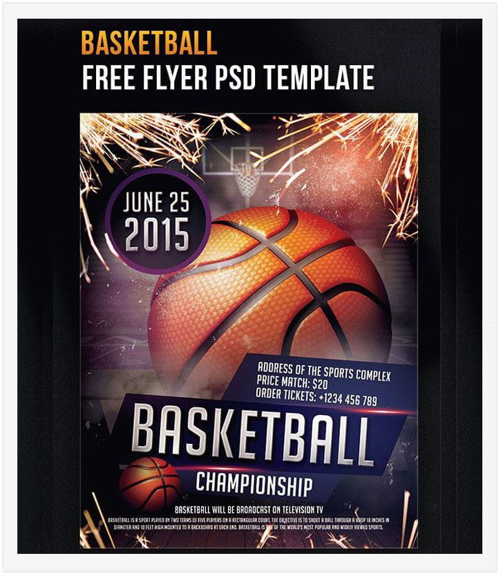 15 Free Basketball Flyer Templates In Psd Vector