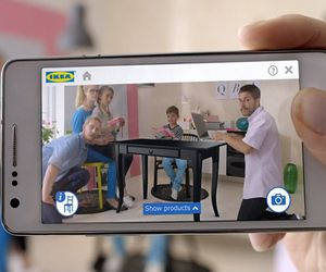 IKEA could be changing the way we shop for home goods. IKEA now allows you to virtually place furniture in your home via the company's mobile app. Imagine how a similar app could be used for the apparel industry. No more wondering how that skirt would look with a top you already own!