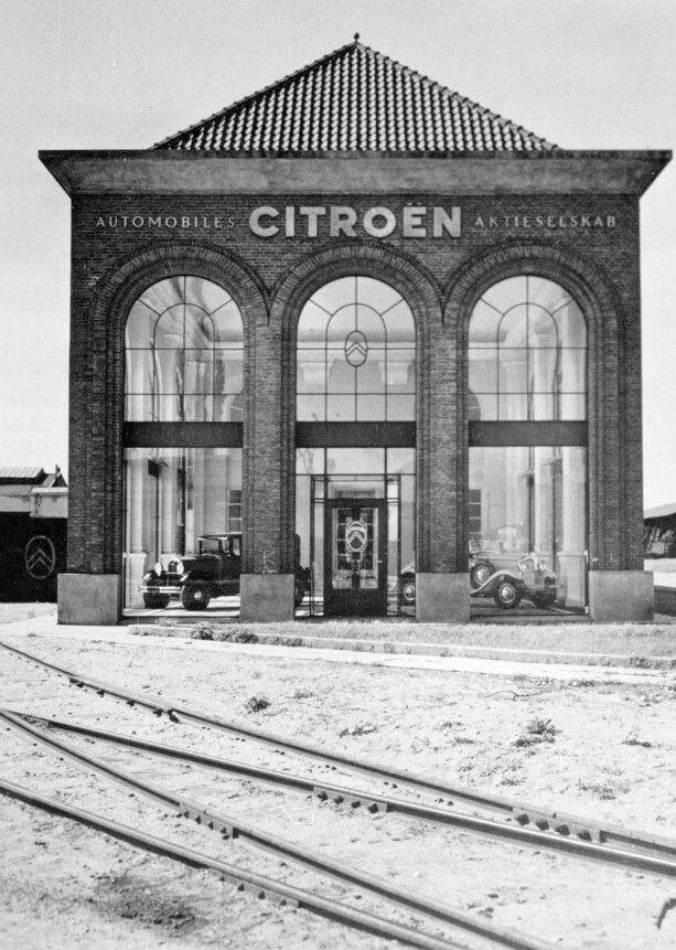 Citroëns udstilling fra slutningen af 1920erne
