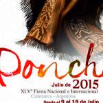 Abren la convocatoria a artesanos para la Fiesta del Poncho 2015