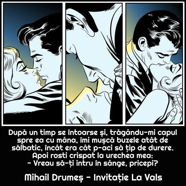 #citat #drumes #vals #iubire #cuplu #illustration #love #kiss