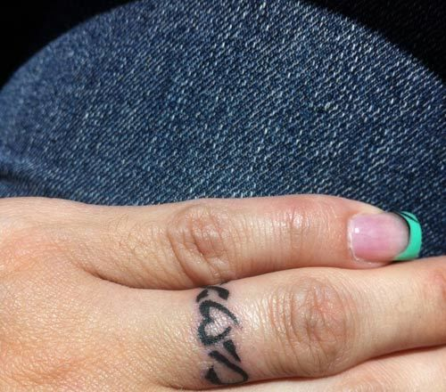 25+ Best Ideas About Ring Tattoo Designs On Pinterest