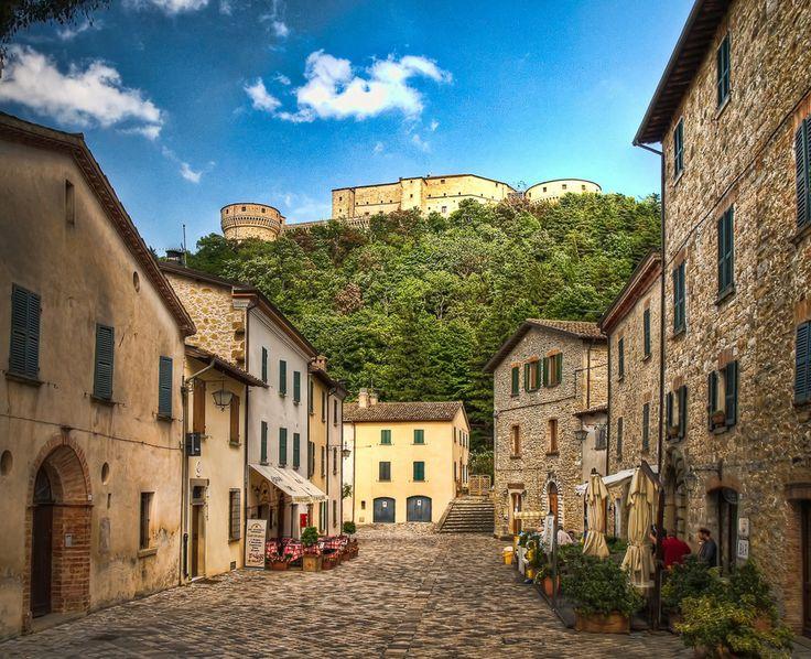 San Leo is a comune in the Province of Rimini in the Italian region Emilia-Romagna, southeast of Bologna