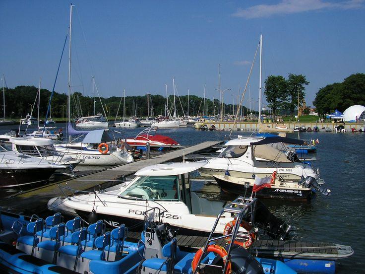 Świnoujście - port jachtowy, marina, basen północny. #swinoujscie