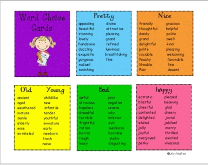 17 best images about Word choice on Pinterest | Words ...