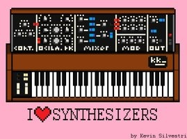 I ♥ synthesizers.