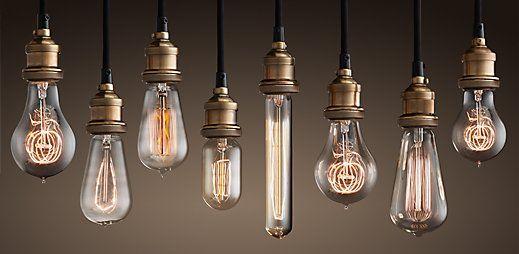 Les ampoules vintage Edison                                                                                                                                                                                 Plus