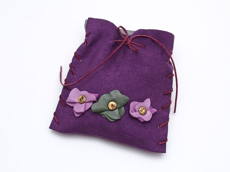 Mała torebka Fiolet w AB art na DaWanda.com