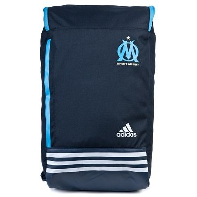 Olympique de Marseille Backpack - Night Navy/White, White #sports #sportsshopping #sportswear