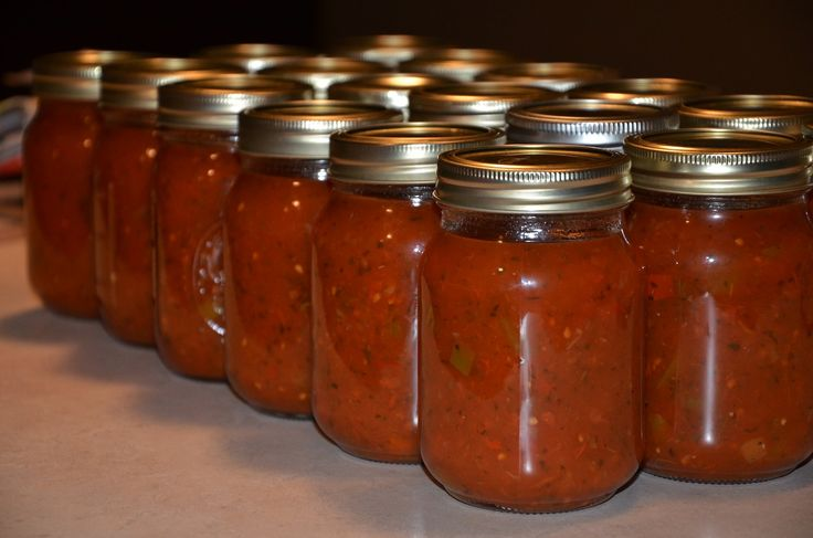 Homemade Canned Salsa Recipe