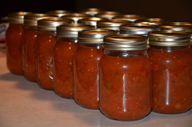 Homemade Canned Salsa Recipe
