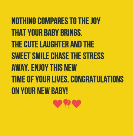 The 40 New Baby Wishes | WishesGreeting