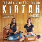 Free Tuesday night events at The Practice. Tonight we have free Kirtan with The Practice Band