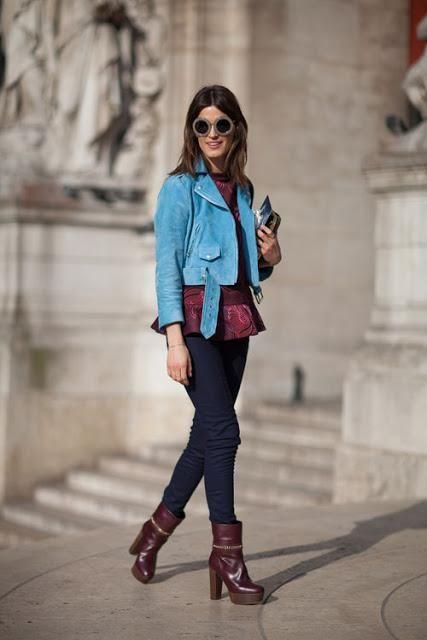 paris street fashion 2013 | Street Style Paris Fashion Week Fall 2013 Hair styles - Latest Makeup ...