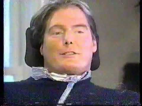 CHIRSTOPHER REEVE LAST PUBLIC SPEECH AT REHABILITATION INSTITUTE OF CHICAGO 10-04-2004 - YouTube