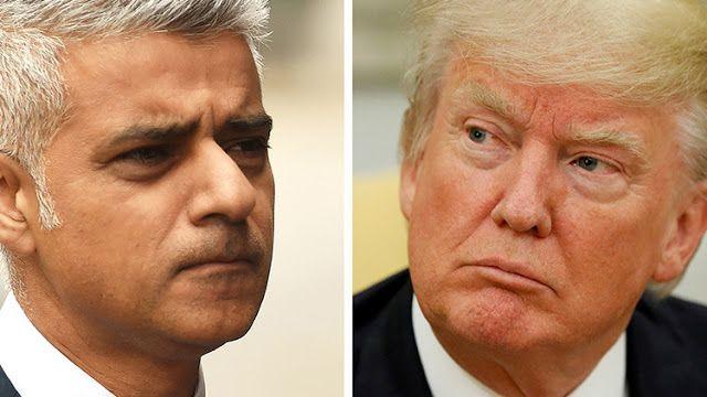 """Sadiq Khan confiesa que se quedó """"extremadamente sorprendido"""" cuando el líder estadounidense """"dijo lo que dijo"""" tras el atentado en el Puente de Londres del pasado 3 de junio."""