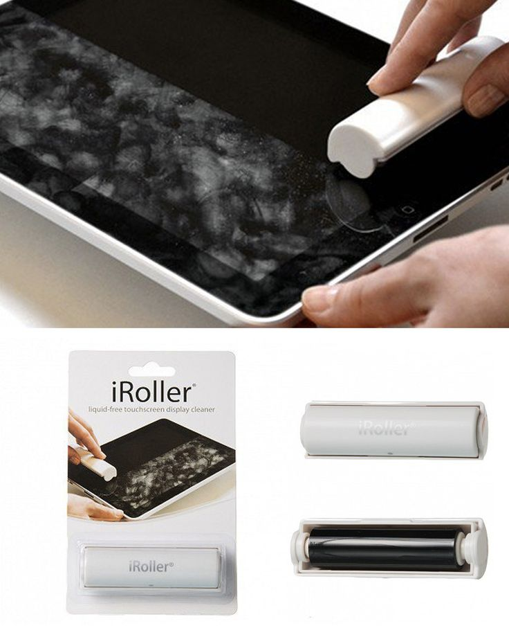 A liquid-free, reusable touchscreen cleaner for your smartphone, tablet, GPS or any other touchscreen device.