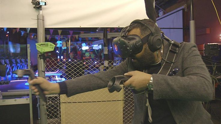 Playing darts in pubs could soon be replaced by playing in virtual reality instead.