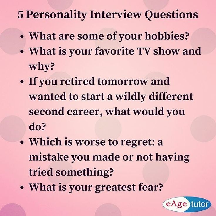 5 Personality #interview Questions One Must Know. Prepare These Questions  And Answer Them Confidently