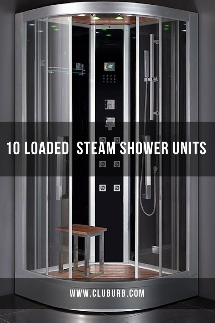 Best Steam Shower Units In 2020 Enclosures With Images Steam