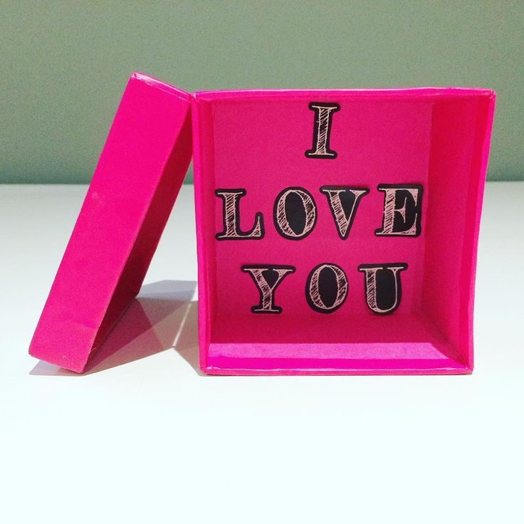 She gave me the gift of love in a box.  #forhim #fromher #gift #love #relationships #truelove #iloveyou #expressionsoflove #justbecausegifts #lovebox #lovepackage #pink #affection #present #presents