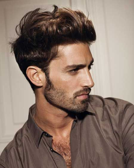 Mens slicked back hairstyles 2013